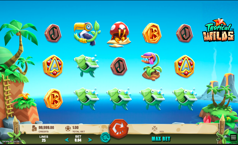 microgaming tropical wilds