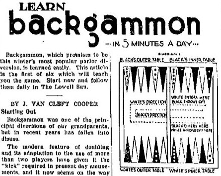 Backgammon Rules And Setup