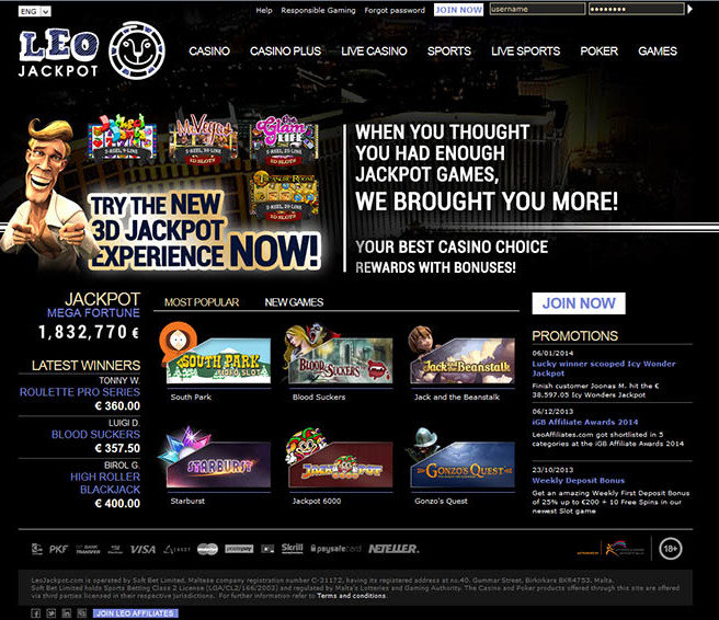 LeoJackpot Casino Review