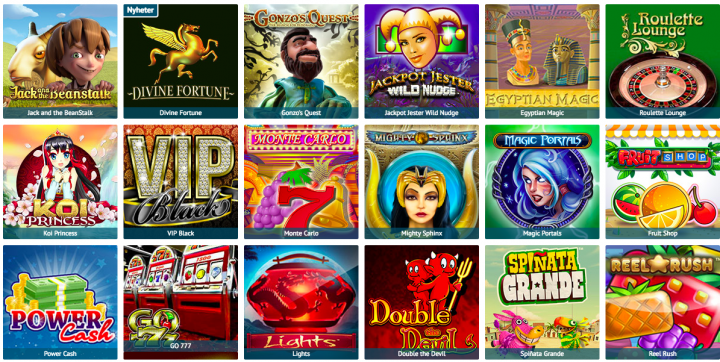 PrimeSlots casino games selection