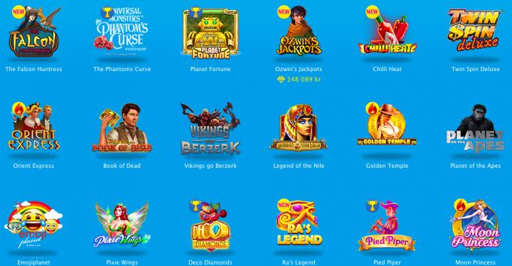 Vera&John casino games selection