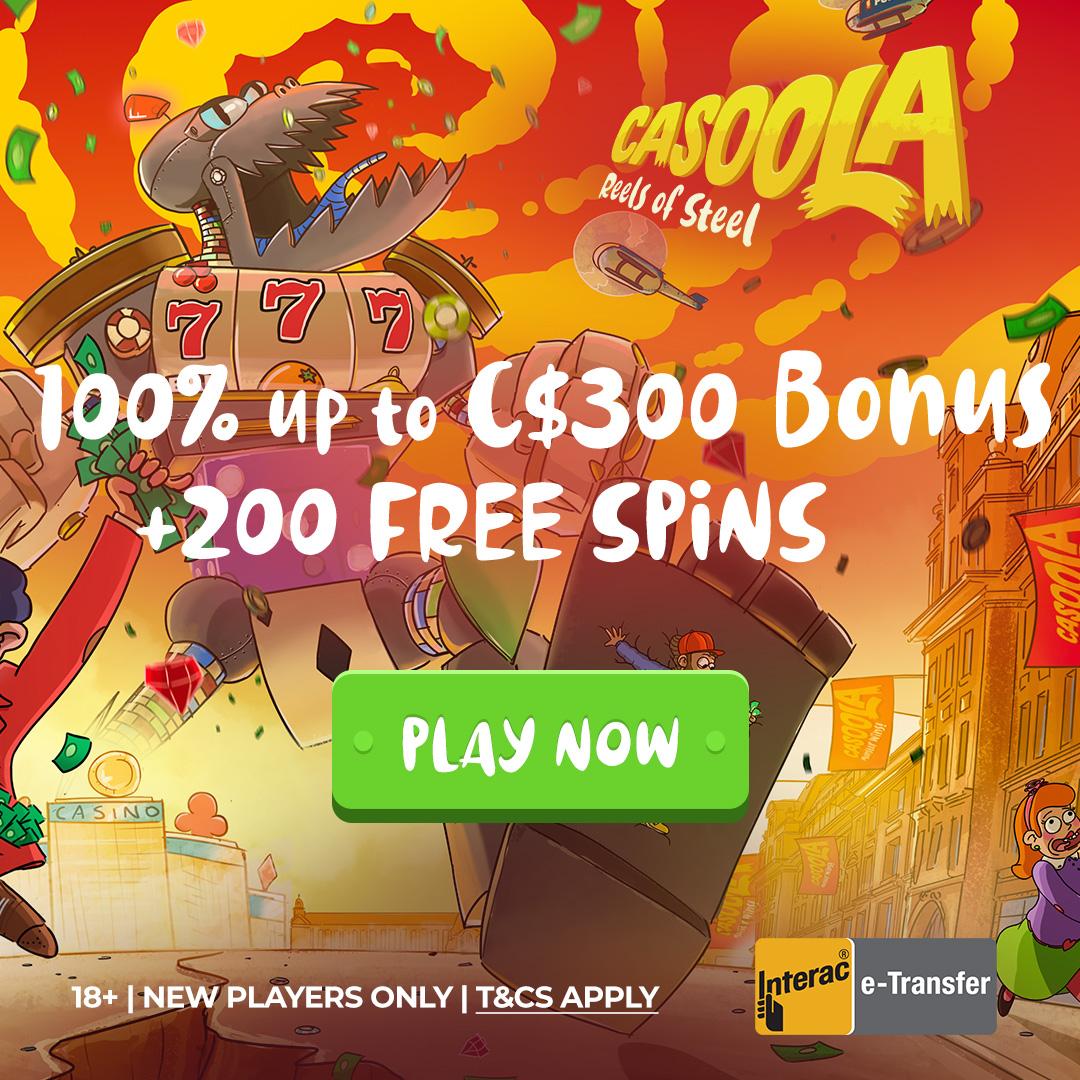 Casoola online casino bonus