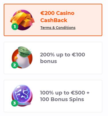 Cadabrus deposit bonus