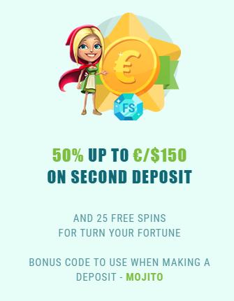 Spinia bonus code