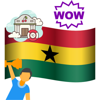 how gambling works in Ghana