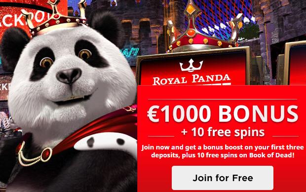 royal panda bonus