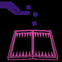 Online backgammon basics